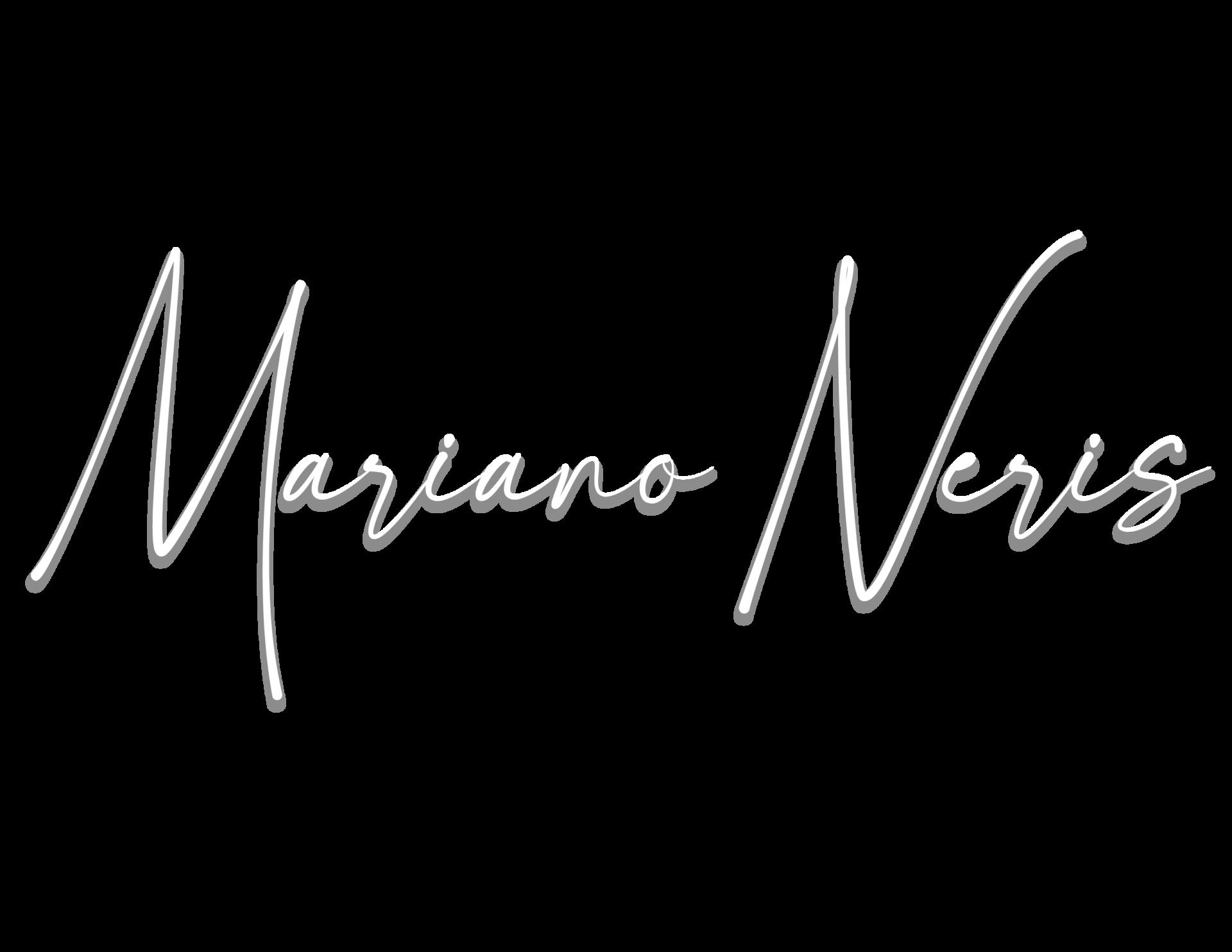 Mariano signature (white)